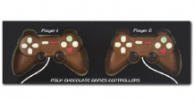 Milk Chocolate Games Controller 2 players 140g